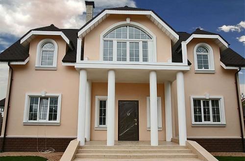 проекты домов в классическом стиле фото