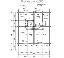 просмотр плана второго этажа проекта