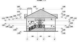 фото фасада подобного одноэтажного дачного дома