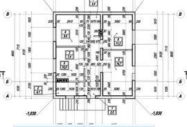 планировка 1-го этажа 9 на 9 м, - изображение
