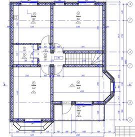 мансардный этаж коттеджа по каркасной технологии