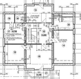 мансардный этаж коттеджа из пеноблоков, с верандой