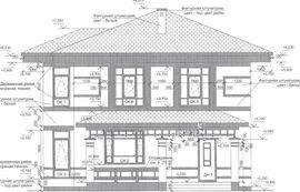 фасад схожего двухэтажного дома