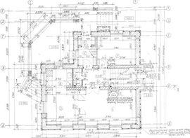 планировка первого этажа 12 на 10 м, с верандой - фото