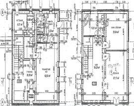 планировочное решение 1-го этажа 12 на 12 м, с верандой - фото