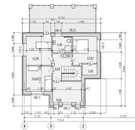 фото планировки второго этажа рабочего проекта