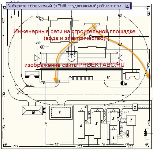 Проектирование временного электроснабжения с башенным краном подключение электричества в Переяславская Малая улица