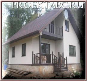 готовый щитовой дом