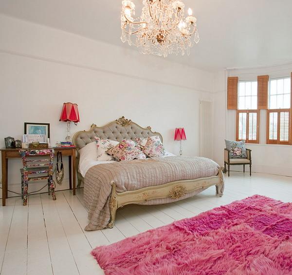 английская спальня, элегантная