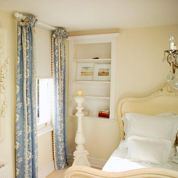 английская спальня в старином стиль