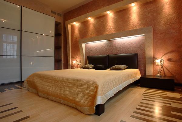 Спальня дизайн в стиле модерн