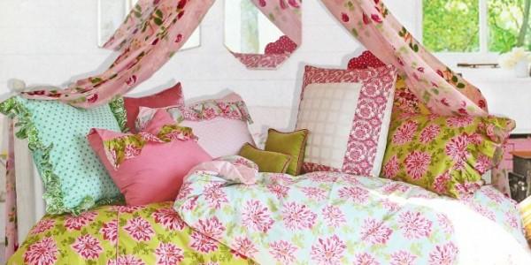 ткани для спальни шеби-шик
