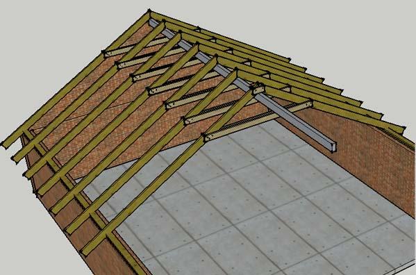Но скаты крыши ломанные,