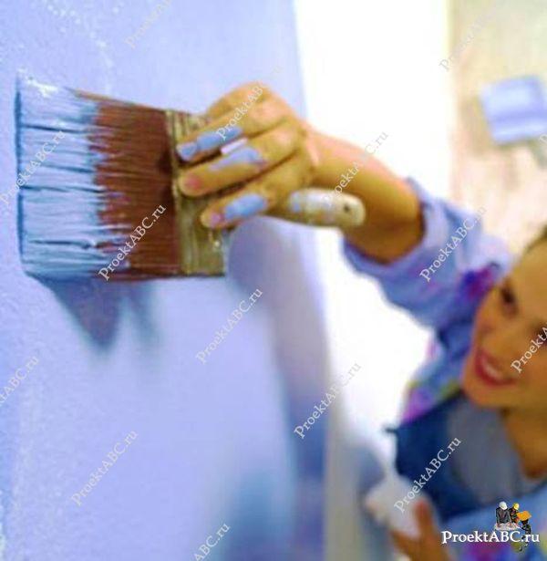нанесение краски своими руками