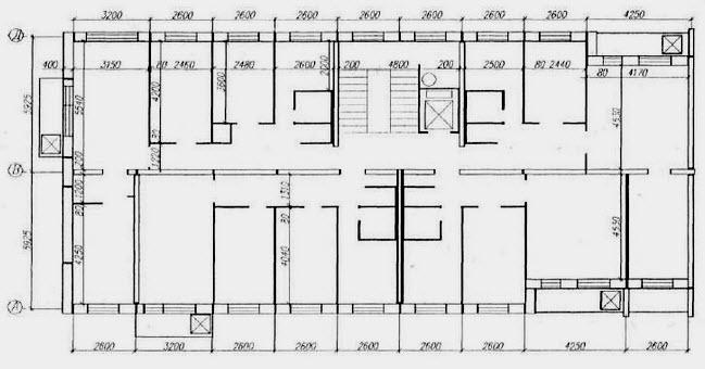 Типовая серия 1-ЛГ-504 - Планировка и размеры