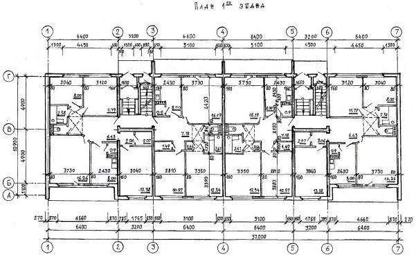 План здания серии 25