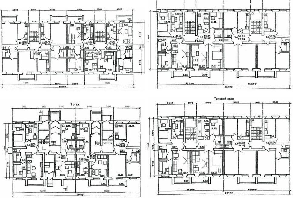 Шестнадцатиэтажный дом точка планировка