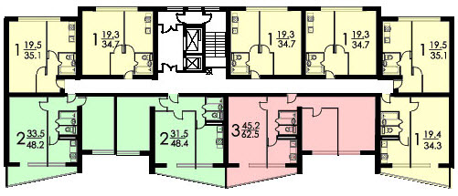 план II-68-02 с размерами