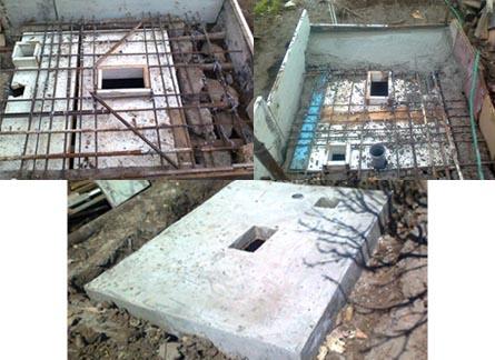 Выгребная яма под туалет на даче своими руками