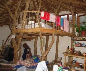 комната необычного дома