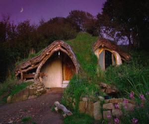 вид необычного дома