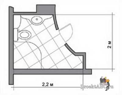 правильный интерьер ванной комнаты в хрущевке