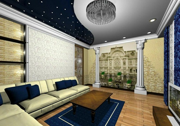 Зал дизайн в доме