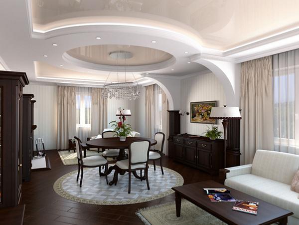 Фото дизайн зала дома