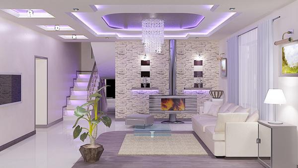 дизайн зального помещения