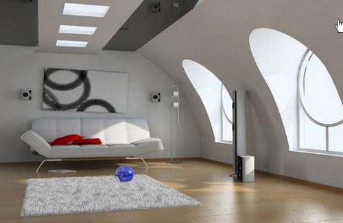 комната в маленькой квартире