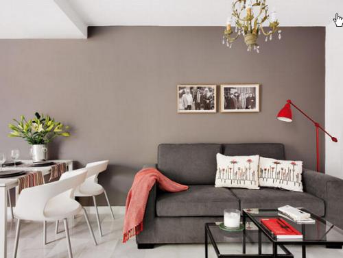 как обустроить зал в маленькой квартире
