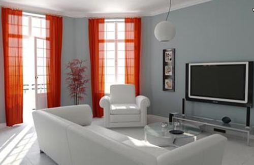 зал в небольшой квартире