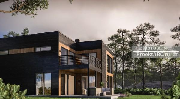 BIM проект двухэтажного дома Santiago House