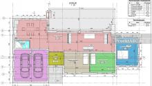 """Проект одноэтажного дома с гаражом на две машины """"Home Is Freedom"""""""