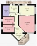 #59. Планировка дома 10 на 12