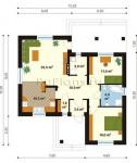 #65. одноэтажный дом 12 на 12
