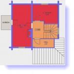 #11. Планировка домов 6 на 8 - фото и чертежи