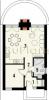#16. Планировка одноэтажного дома 6 на 8 метров