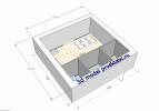 #1. Минимум стен и максимум удобств в доме 6 на 6