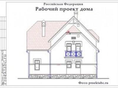 Проект кирпичного двухэтажного дома 11 на 14