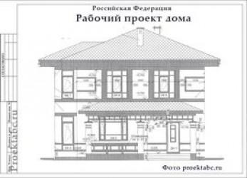 Каркасный дом 9 на 9 метров
