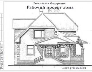 Проект дома из пеноблоков одноэтажного дома 12 на 10