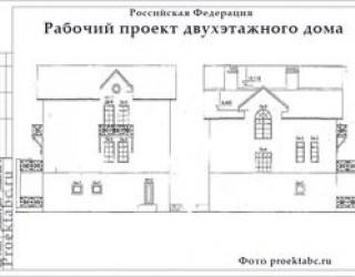 Проект кирпичного трехэтажного дома 12 на 12 метров