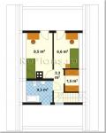#23. бревенчатый дом 7 на 7 фото с планами