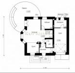#34. Планировка дома 9 на 9 метров