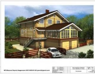 Проект дуплекса: дома на две семьи