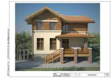 """Проект жилого дома с мансардой 12х13 м - """"СБ-250"""""""
