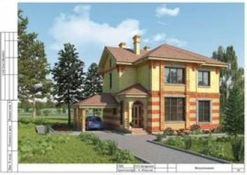 Проект загородного дома в современном стиле